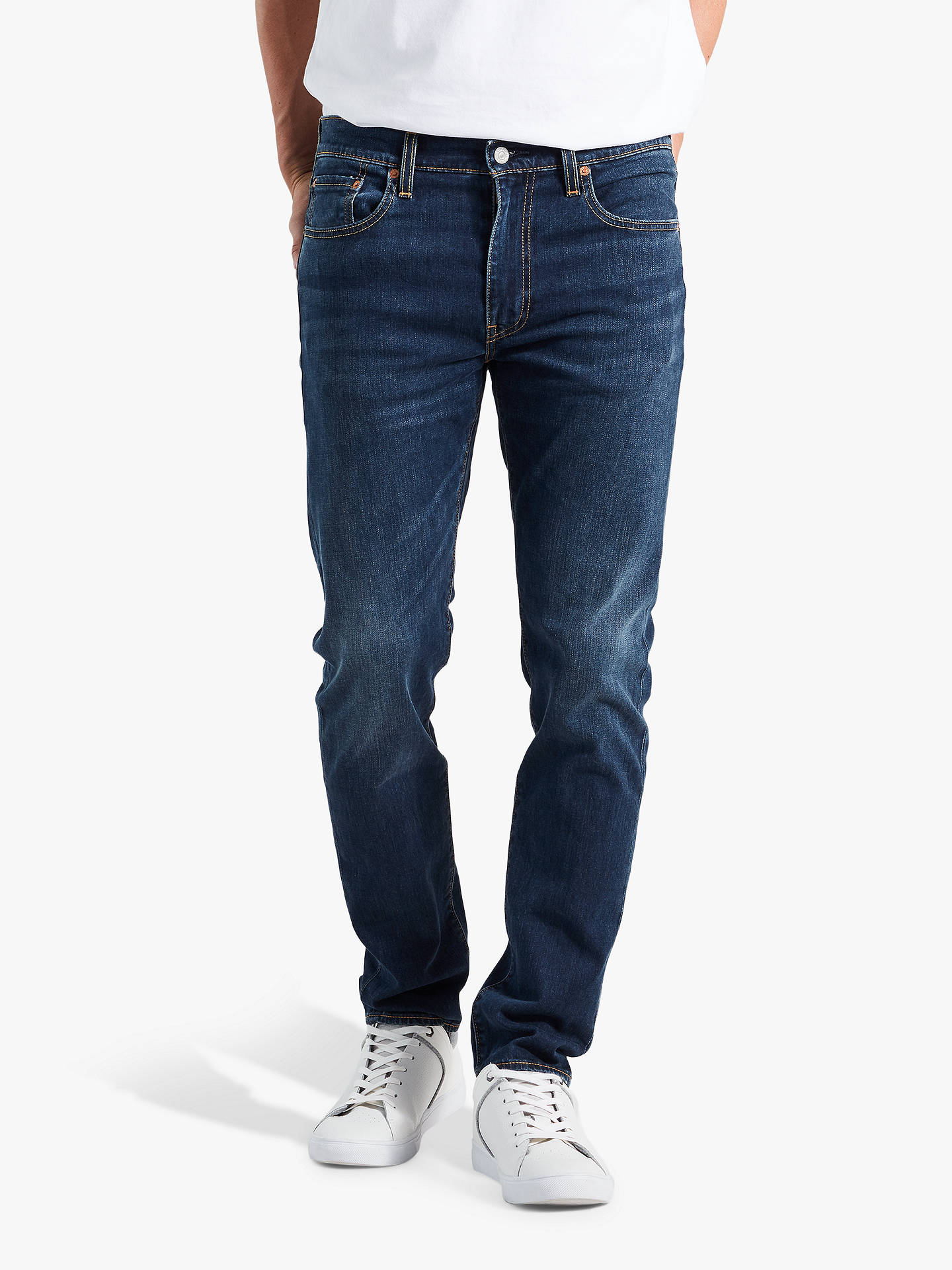 e5b39a94 Buy Levi's 512 Slim Tapered Jeans, Adriatic Adapt, 34R Online at johnlewis.  ...