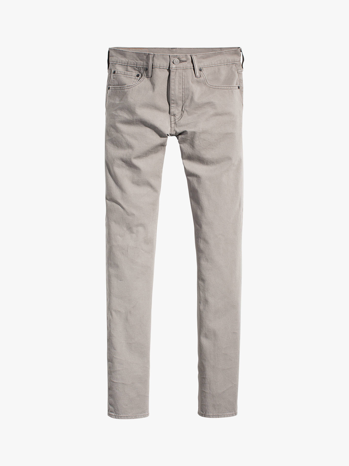 1a58db4381a ... Buy Levi's 511 Slim Fit Bi Stretch Jeans, Steel Grey, 34L Online at  johnlewis