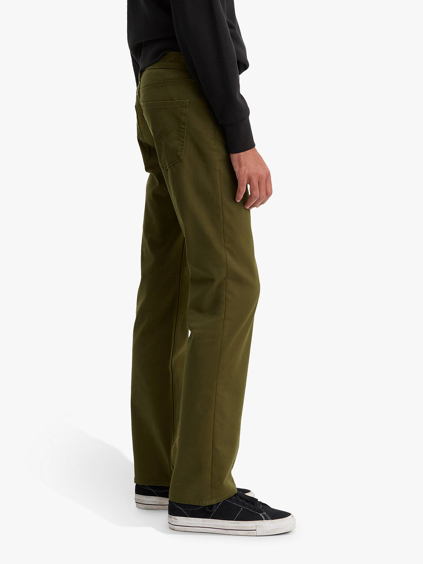 4b63a1c56bd ... Buy Levi's 511 Slim Fit Bi Stretch Jeans, Foragers Green, 32L Online at  johnlewis