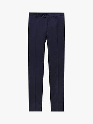 598fc67a882 Oscar Jacobson Wool Regular Fit Suit Trousers