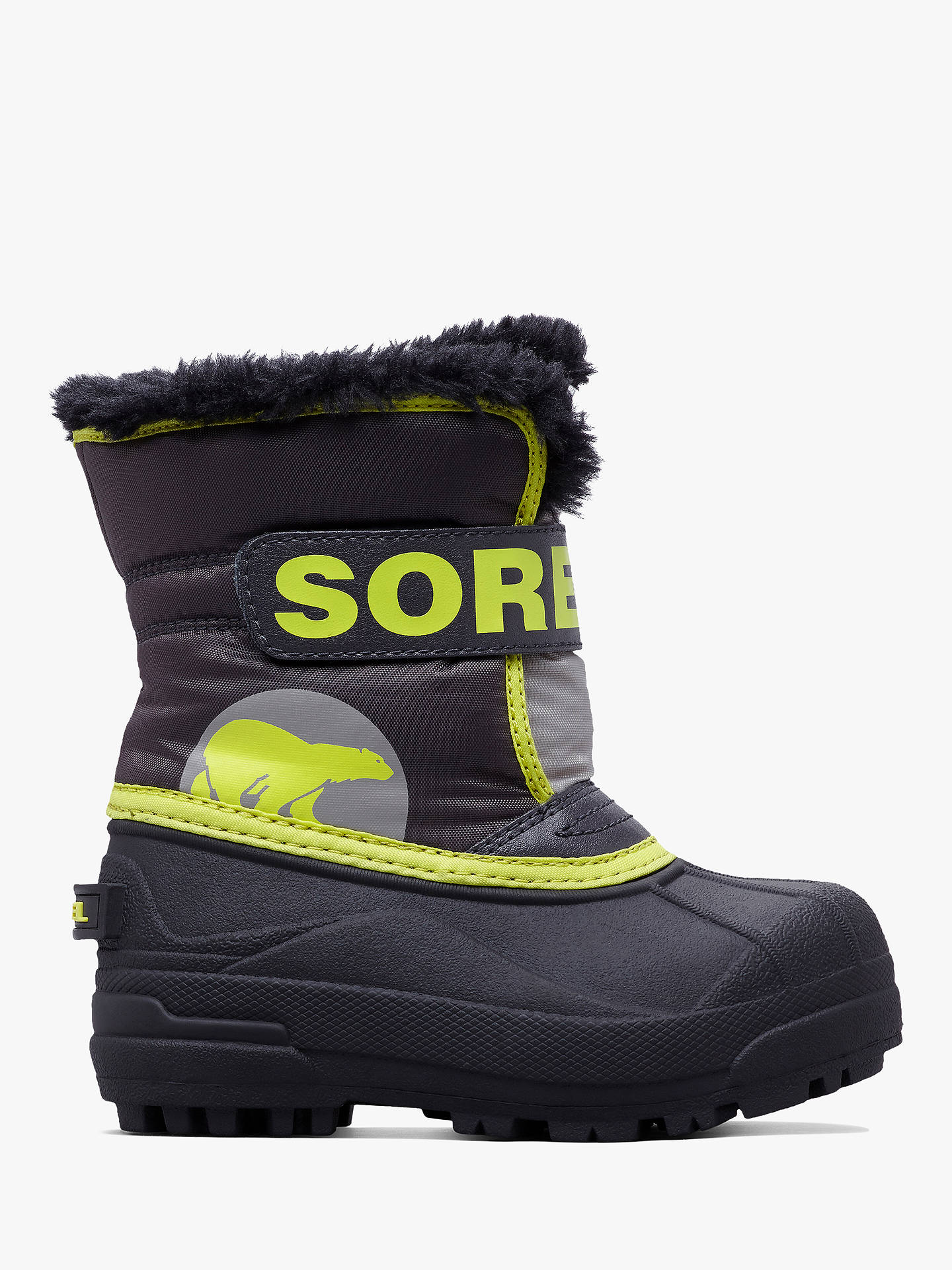 9aa6416bb6 Sorel Children's Snow Commander Snow Boots at John Lewis & Partners