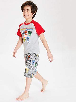60908d08cd Marvel Boys  Character Print Pyjamas