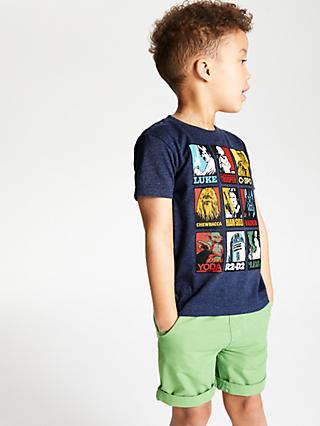 5e241f636fe17 Star Wars Boys' Character Print T-Shirt, ...