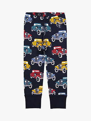 Buy Polarn O. Pyret Baby Car Print Leggings, Blue, 12-18 months Online at johnlewis.com