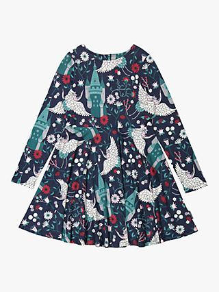 Polarn O. Pyret Children's Fairytale Dress, Blue