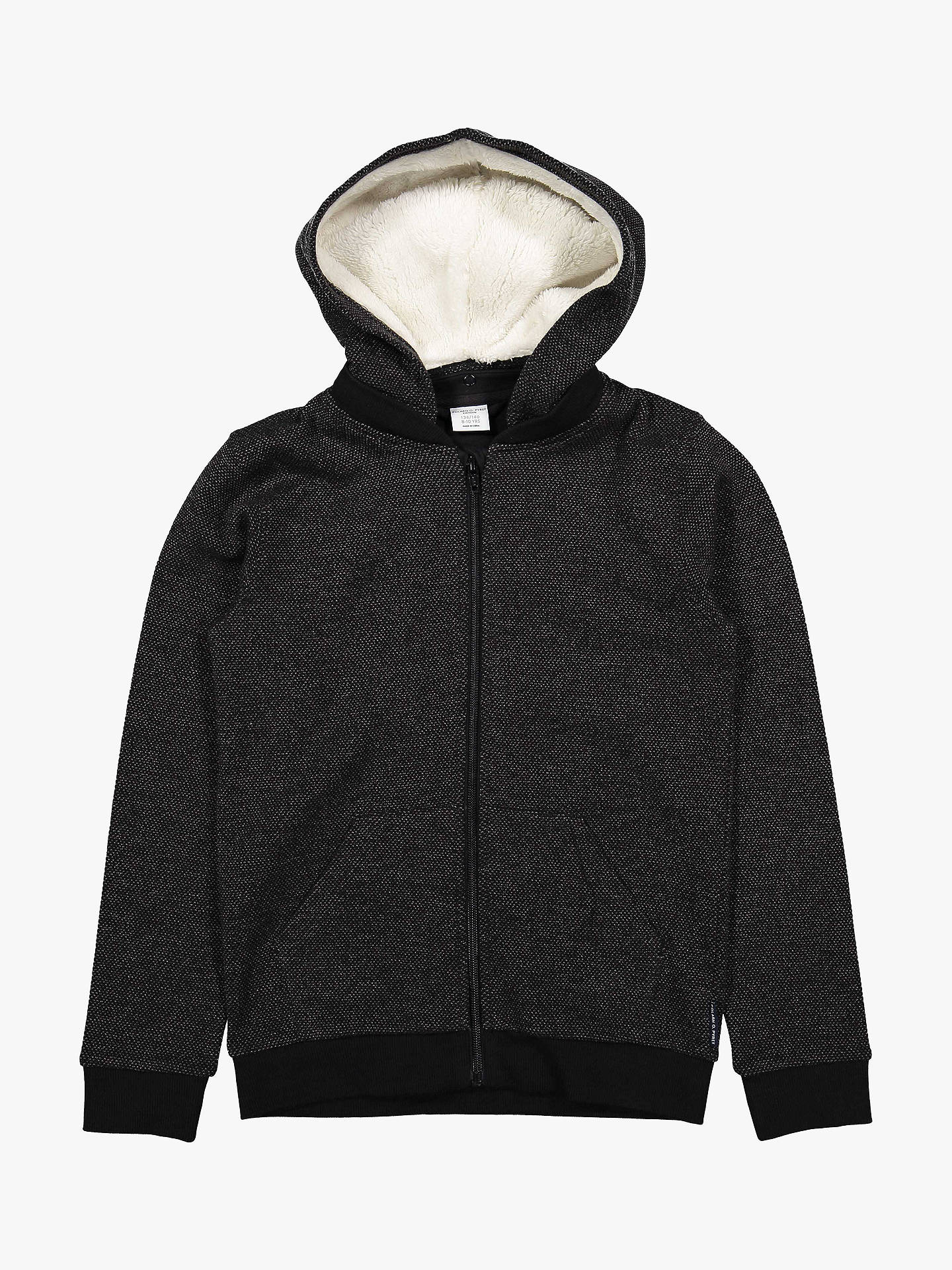 BuyPolarn O. Pyret Children's Fleece Lined Hoodie, Grey, 6-8 years Online at johnlewis.com