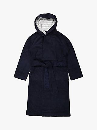 Polarn O. Pyret Children's Bathrobe, Blue