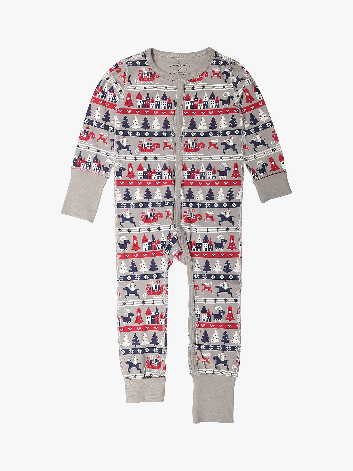 0563dd919 Polarn O. Pyret GOTS Organic Cotton Children s Xmas Onesie
