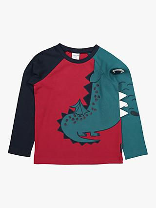 Polarn O. Pyret Children's Dragon Top, Red
