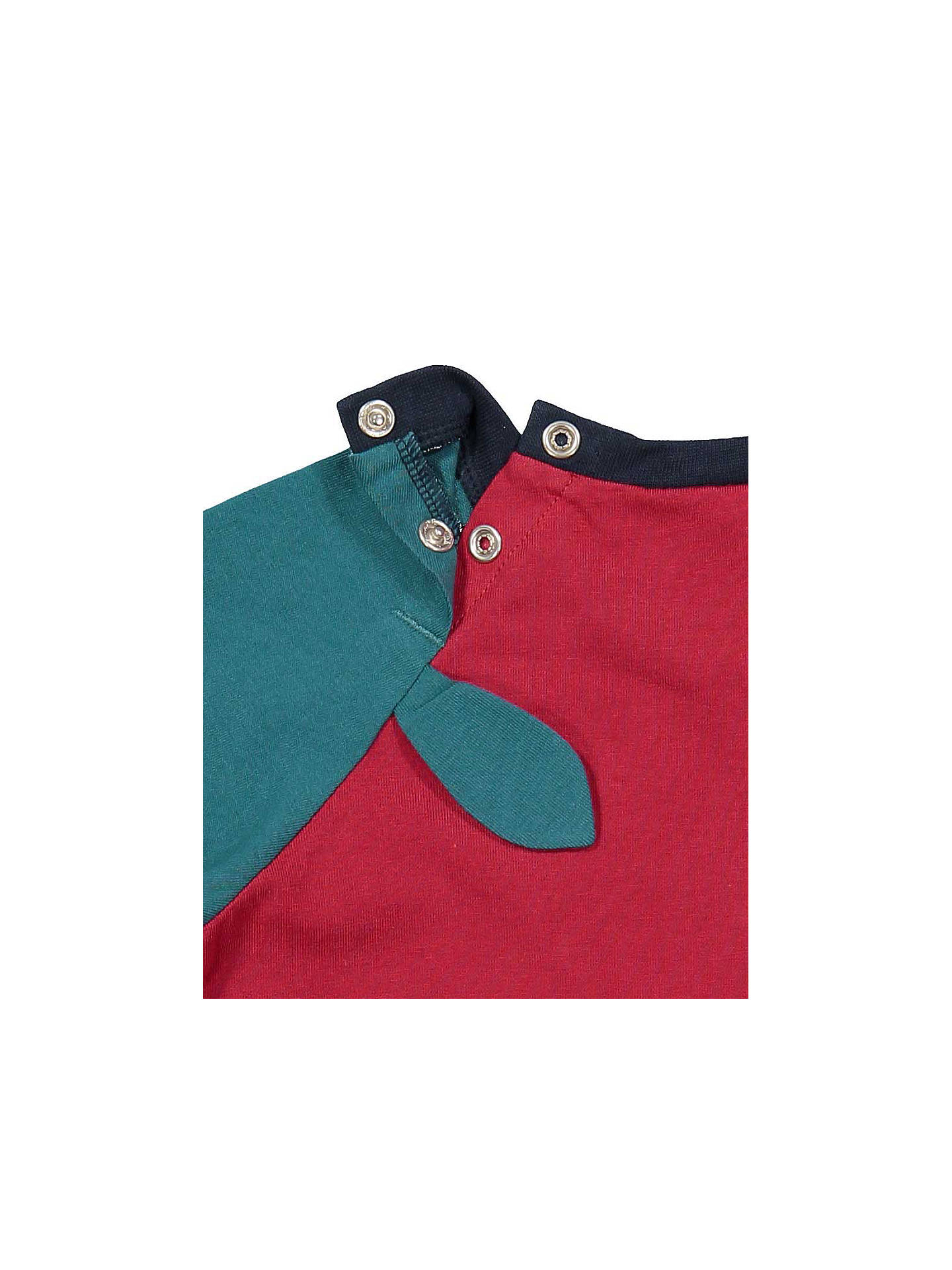 Buy Polarn O. Pyret Baby Dragon Top, Red, 6-9 months Online at johnlewis.com