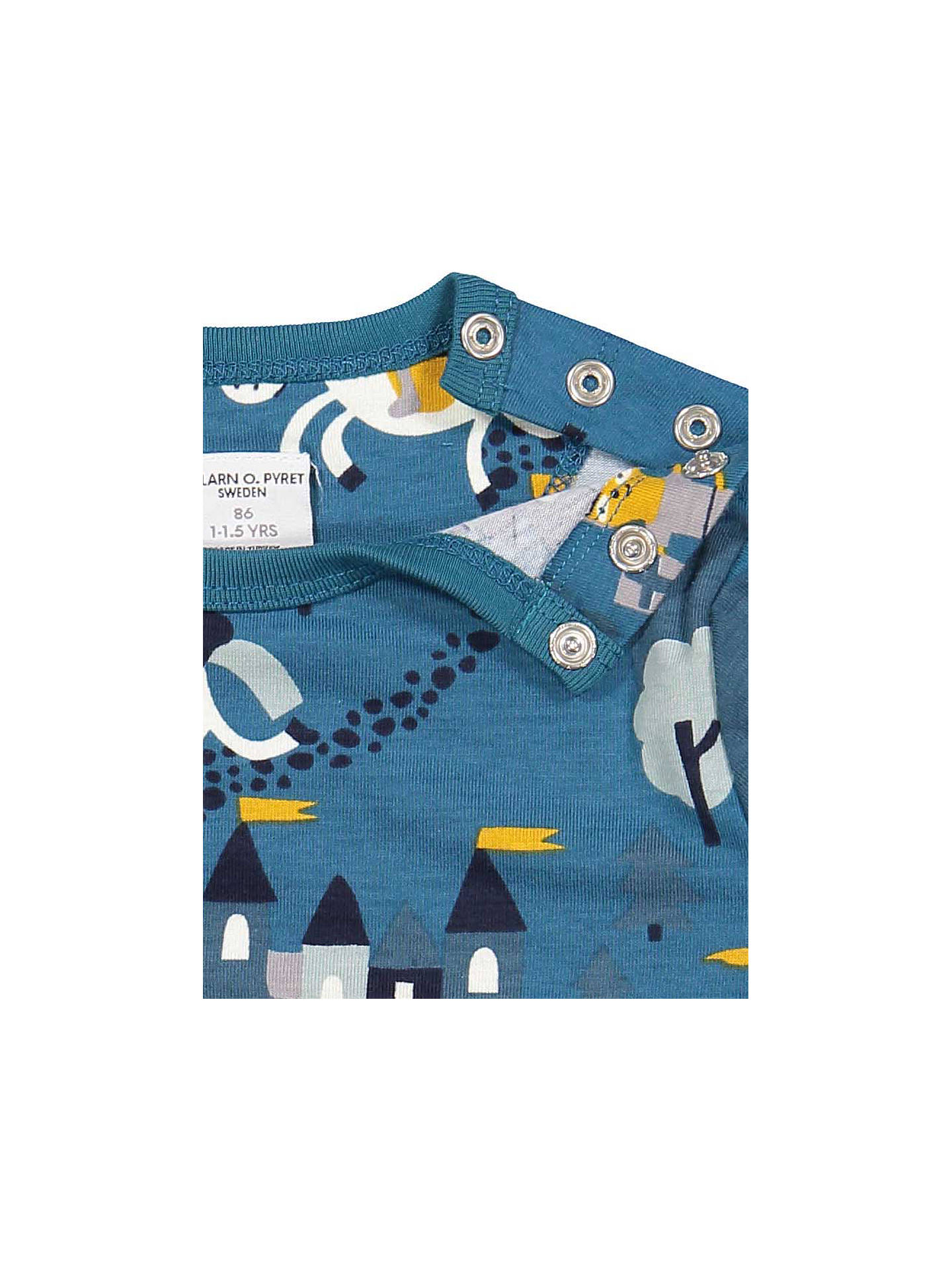 Buy Polarn O. Pyret Baby Fairytale Top, Blue, 18-24 months Online at johnlewis.com