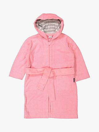 Polarn O. Pyret Children's Bathrobe, Pink