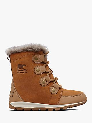 Sorel Children's Whitney Suede Snow Boots