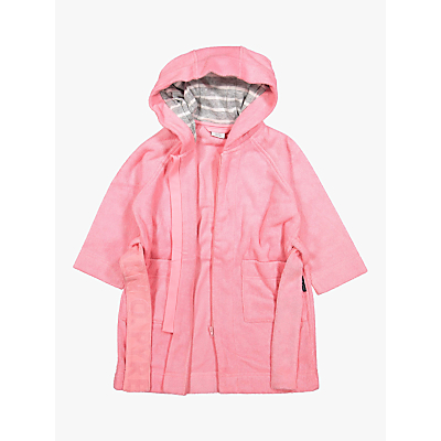 Image of Polarn O. Pyret Baby Bathrobe, Pink