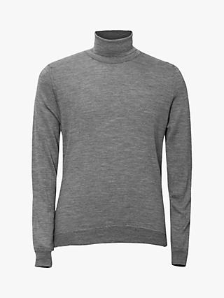 Oscar Jacobson Cole Roll Neck Merino Jumper