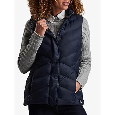 Barbour Skysail Hooded Gilet, Navy