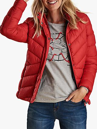 Barbour Seaward Quilted Jacket, Coastal Red