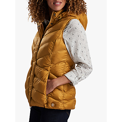Barbour Skysail Hooded Gilet, Harvest Gold