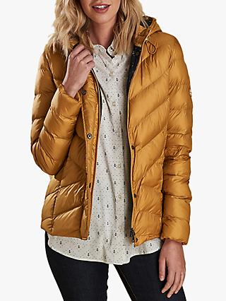 98b34d9e804 Barbour Skysail Hooded Quilted Jacket