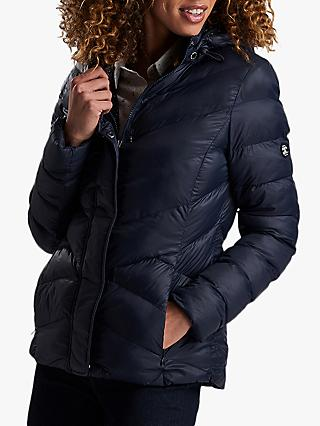 9df08089b74a Barbour Skysail Quilted Hooded Jacket