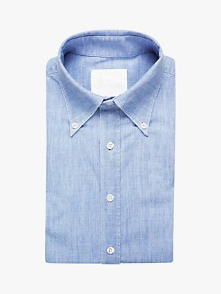38c7f1c418e Oscar Jacobson Slim Fit Oxford Shirt