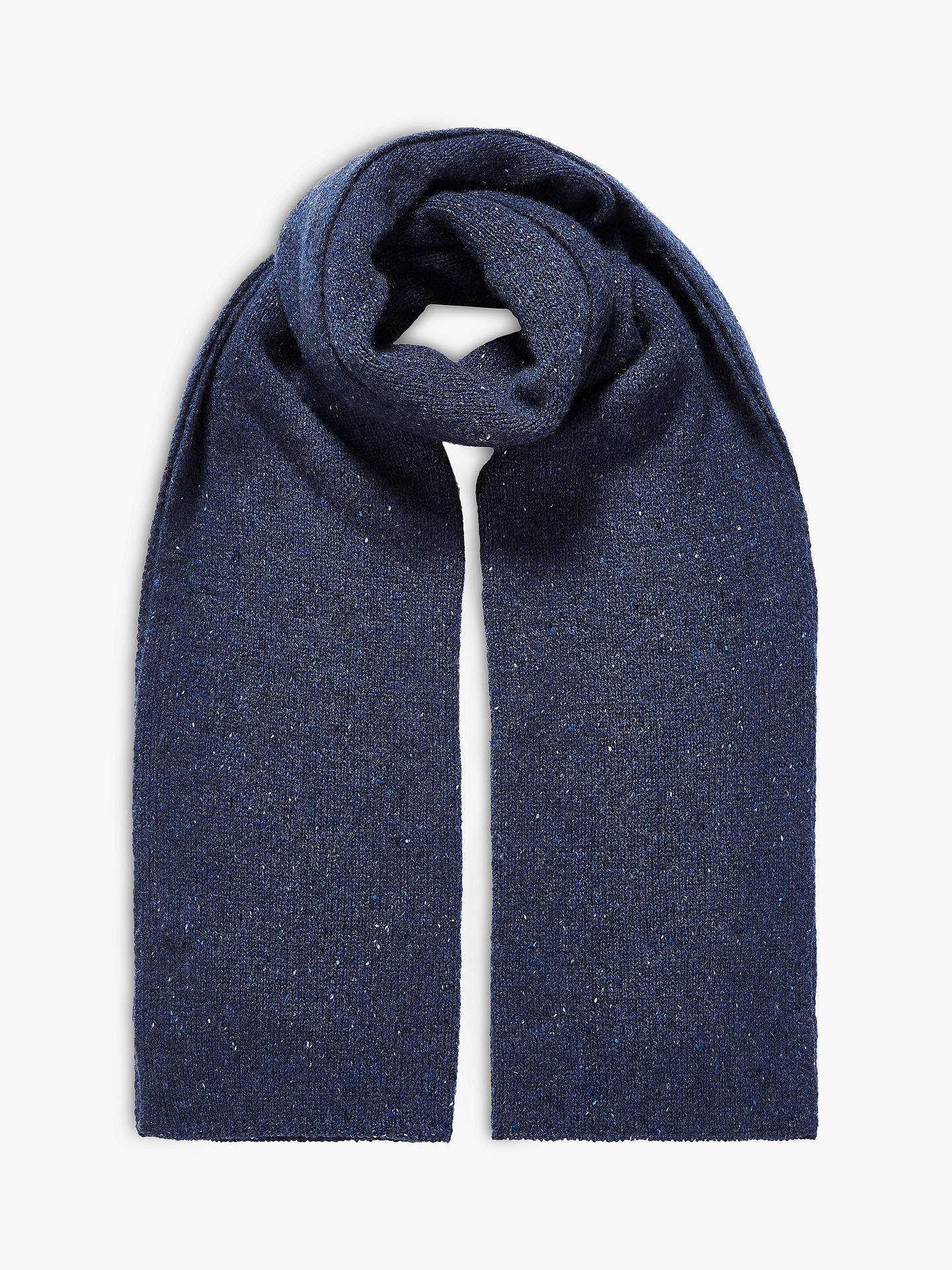 e29e8b38d Buy Brora Cashmere Donegal Knit Scarf, Dusk, One Size Online at  johnlewis.com ...