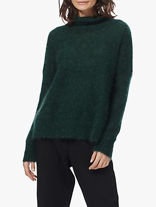 Brora Mohair Funnel Neck Jumper