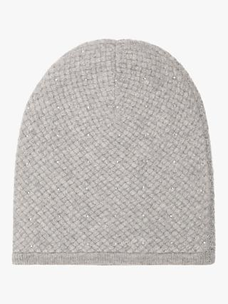18a63594cc7 Exclusive to John Lewis   Partners and Brora. Reiss Sabria Cashmere Beanie  Hat