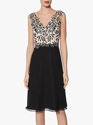 299883f8f8 Gina Bacconi Siofra Contrast Bodice Dress