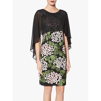 Gina Bacconi Blair Chiffon Dress, Multi