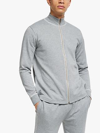 Ralph Lauren Pyjama Zip Top, Grey