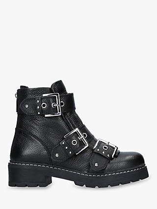 Carvela Sheen Buckle Ankle Boots