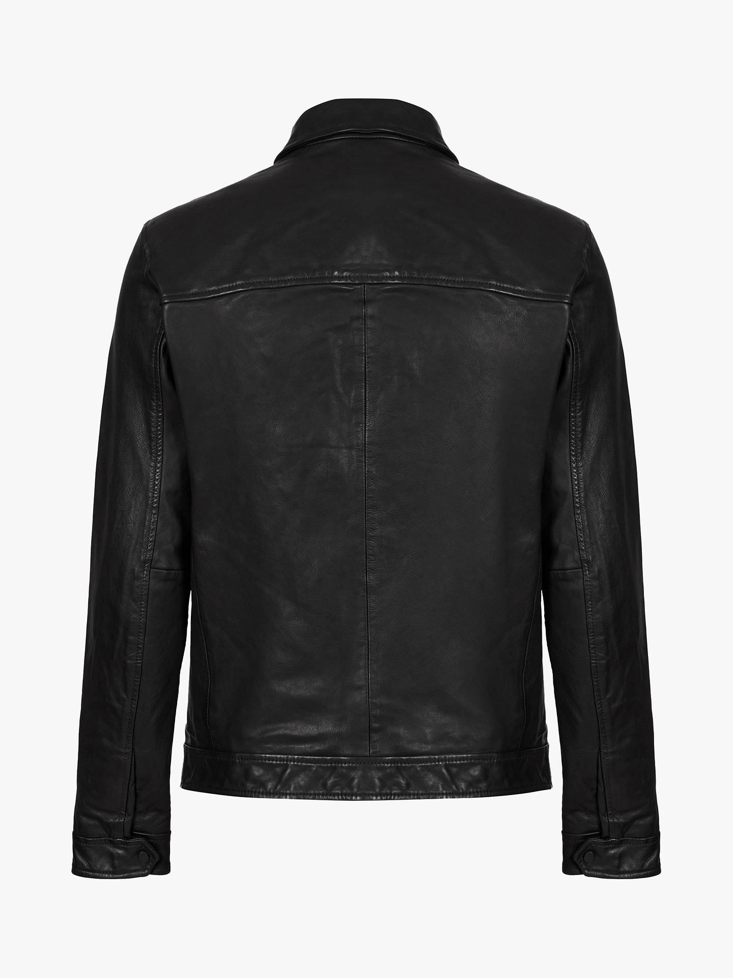 ... BuyAllSaints Lark Leather Jacket 27640b2c5