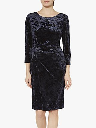 Gina Bacconi Bellatrix Velvet Midi Dress