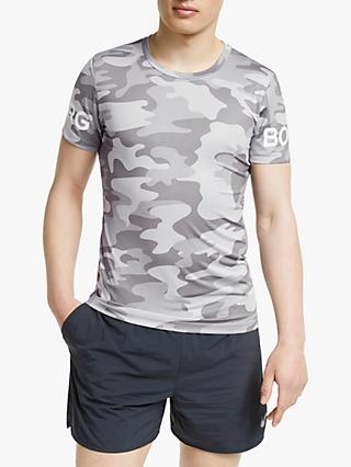 09338727bab Reiss Rio Feather Printed T-Shirt. £45.00 · Björn Borg LA Short Sleeve  Training Top