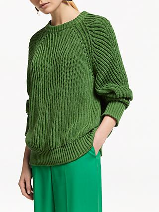 4585814336a265 Green | Women's Knitwear | John Lewis & Partners