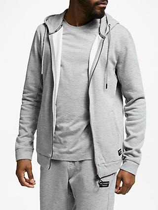 Björn Borg Centre Hoodie, Light Grey Melange
