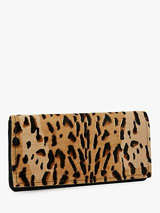 Jaeger Eve Animal Purse Clutch, Brown