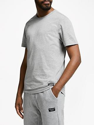 Björn Borg Centre Short Sleeve Reguar T-Shirt, Light Grey Melange