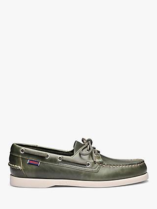 Sebago Dockside Portland Waxed Leather Boat Shoes bcd2741fe