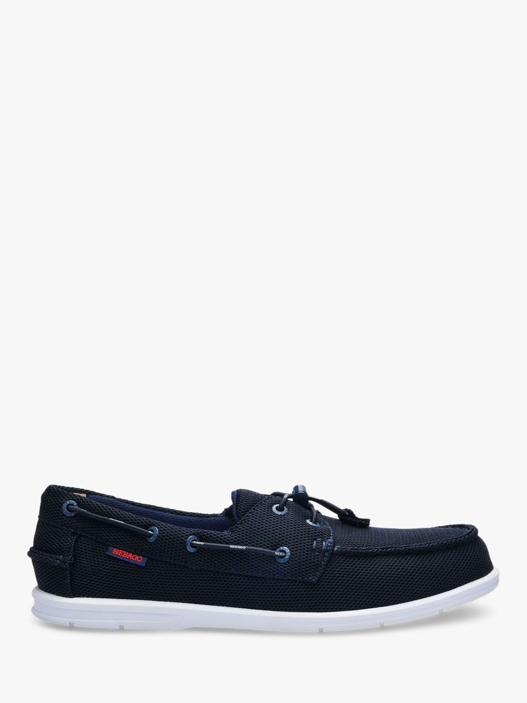 Sebago Sebago Naples Tech Textile Boat Shoes, Navy