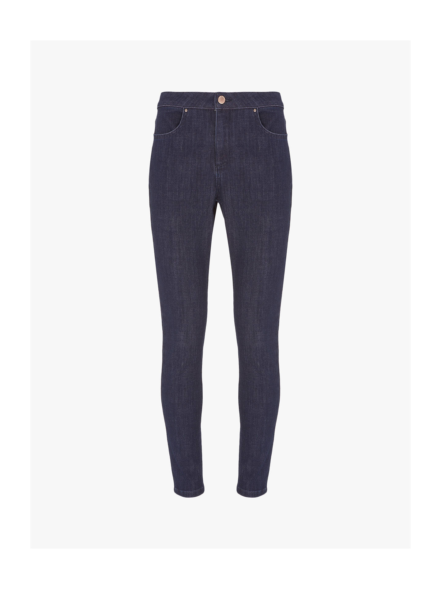 Buy Mint Velvet Atlanta Jeggings, Indigo, 14S Online at johnlewis.com