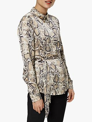 621c4f158e Selected Femme Snake Print Blouse