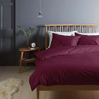 John Lewis & Partners Crisp and Fresh 200 Thread Count Egyptian Cotton Bedding