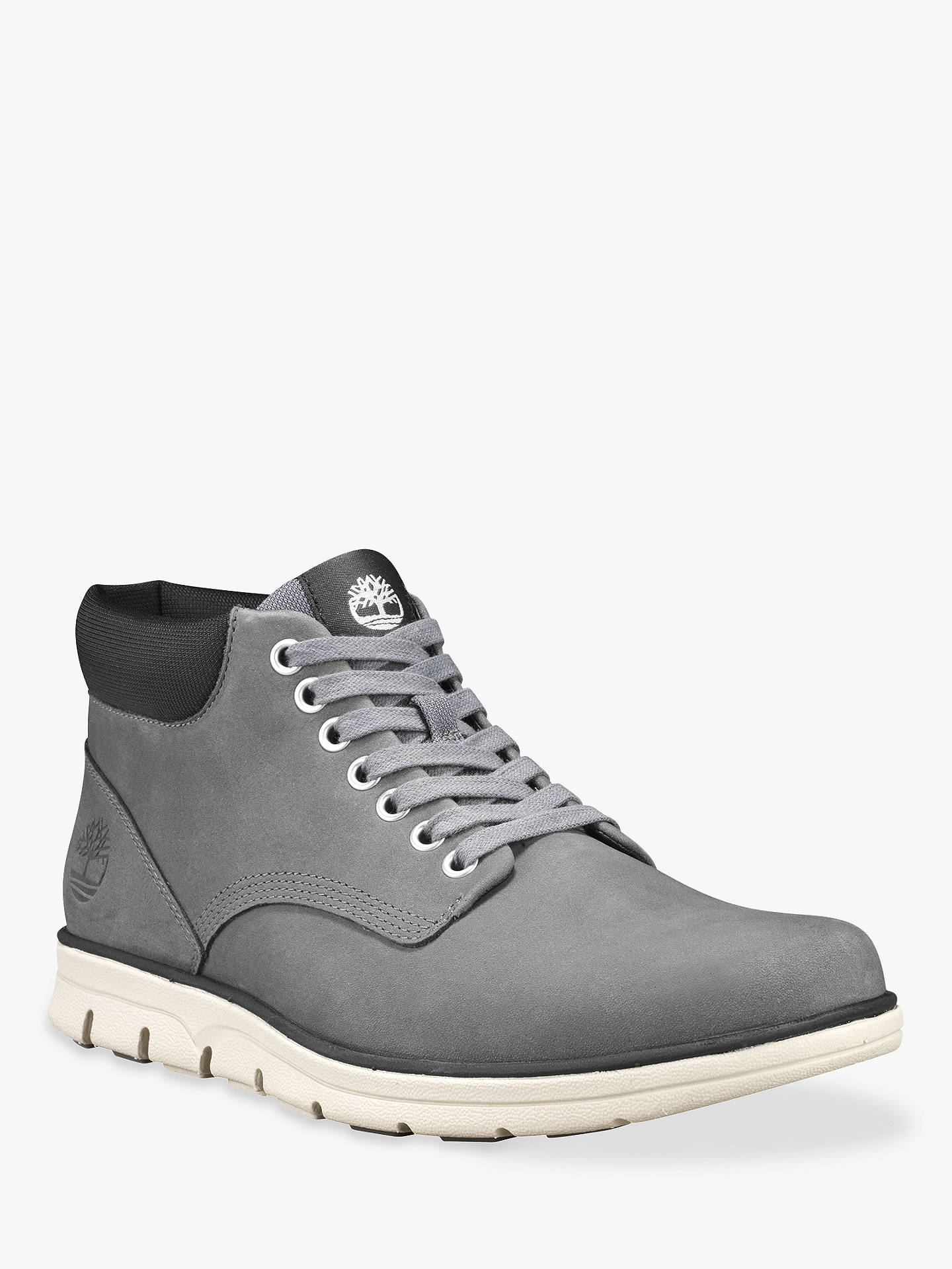 available retail prices limited sale Timberland Bradstreet Chukka Boot, Grey at John Lewis & Partners