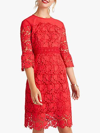 e85618a0649f Yumi Lace Floral Panel Dress