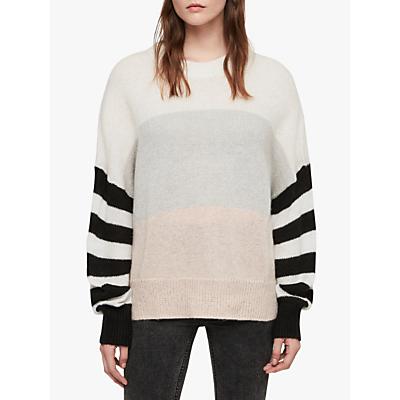 AllSaints Nicoli Jumper, Multi/Stripe