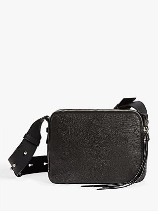 Allsaints Vincent Leather Cross Body Bag