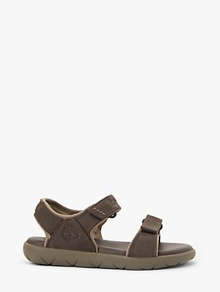 91a313058 Timberland Children s Nubble Leather Double Riptape Sandals
