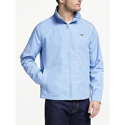 Lacoste Packaway Hood Jacket, Sky Blue Aey